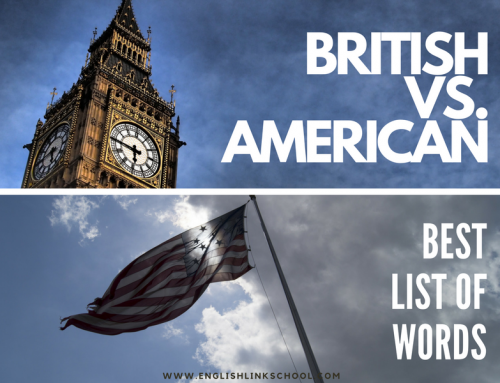 BRISTISH VS. AMERICAN ¿diferencias?